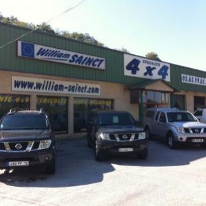 William Sainct vente 4x4